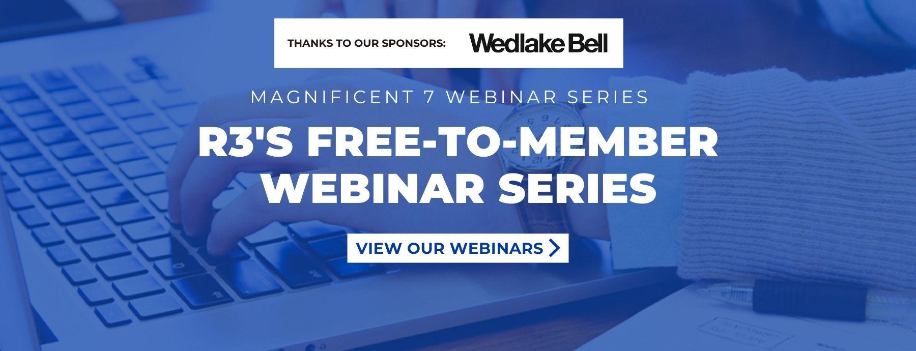 Magnificent 7 Webinar Series