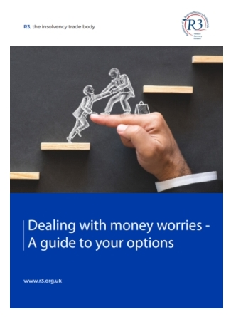 front cover of R3's new resource on options for dealing with debt