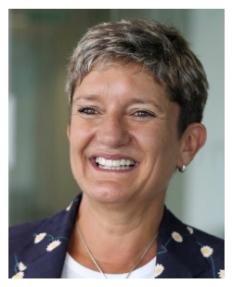 Liz Bingham OBE