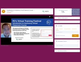 R3's Virtual Training Festival: a review